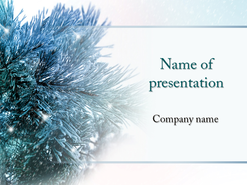 Christmas Season powerpoint template presentaion