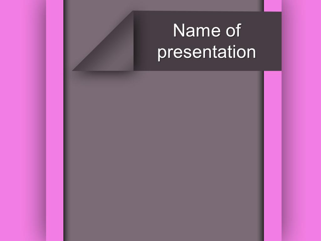 Free purple bars powerpoint template presentation
